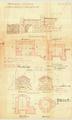 Wintermühlenhof Brunnenanlage Quellenfassung Plan 1906.png