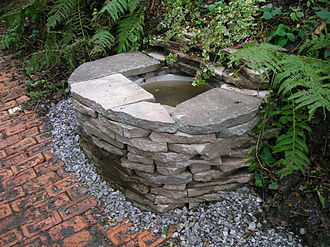 Wishing well - A wishing well in Barrmill, Scotland