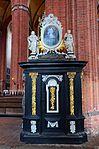 Wismar, St. Nikolai, Kanzelaufgang. 1.JPG