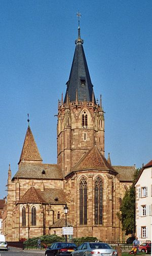 Wissembourg - Church of Saints-Pierre et Paul.