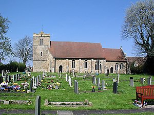 Witchford - Image: Witchford church from the south geograph.org.uk 4323