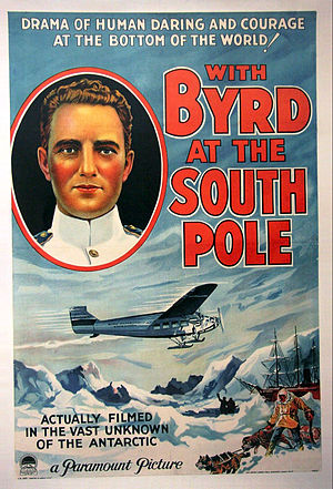 With Byrd at the South Pole - Theatrical release poster