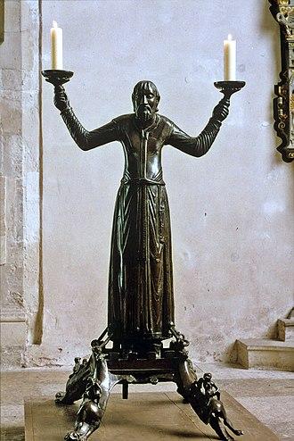 Erfurt Cathedral - Image: Wolframleuchter