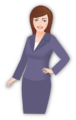Women's suit icon.png