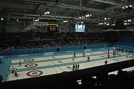 Women's tournament curling, 2014 Winter Olympics, Round robin.JPG