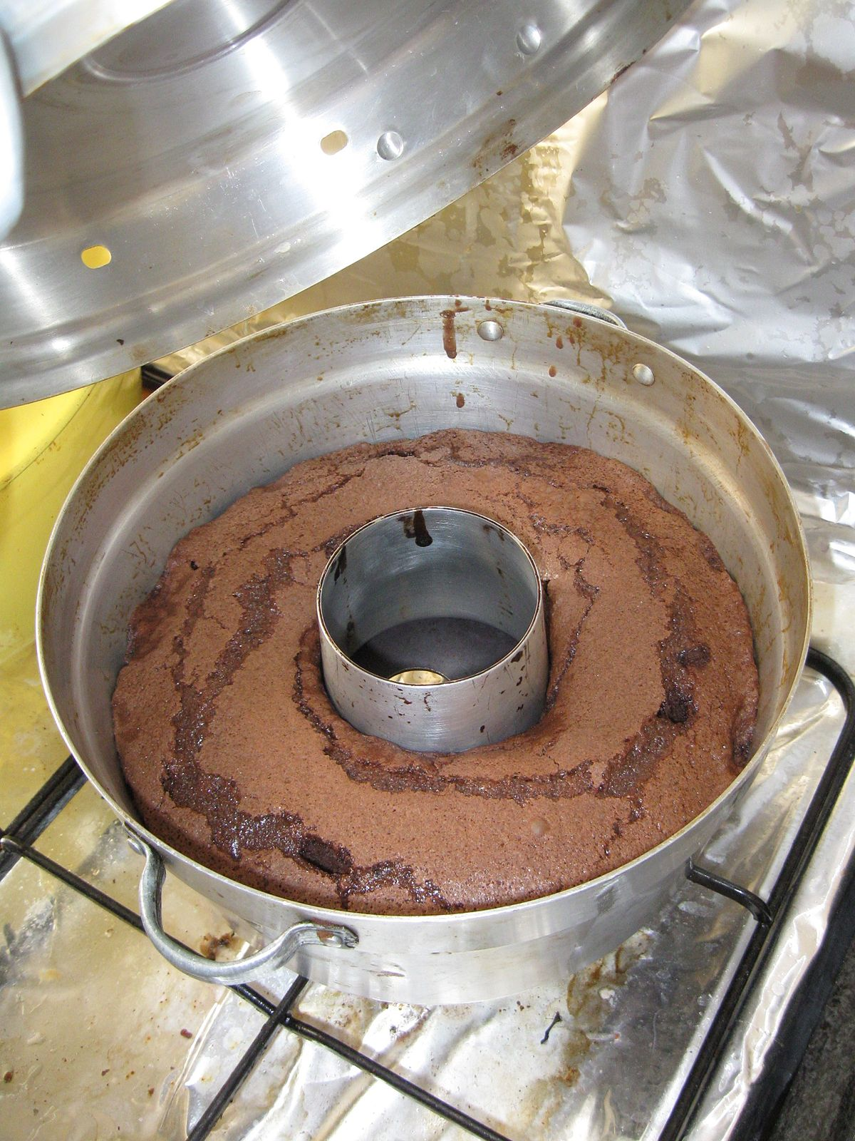 How To Make Brownie Cake Without Oven