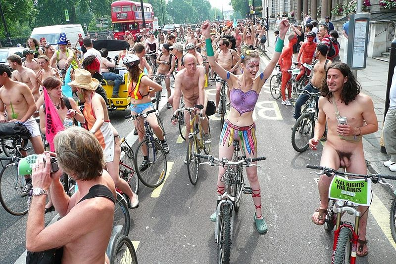 World Naked Bike Ride or WNBR is an international clothing-optional bike ...