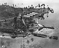 Wrecked seaplane base at Tanambogo August 1942.jpg