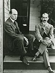 Wright Brothers at home, 1909.jpg