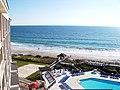 Wrightsville Beach, North Carolina from top floor of the Holiday Inn - panoramio.jpg