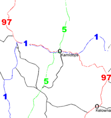 British Columbia Highway 97 - Wikipedia