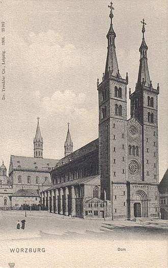 Würzburg Cathedral - Würzburg Cathedral (1904)