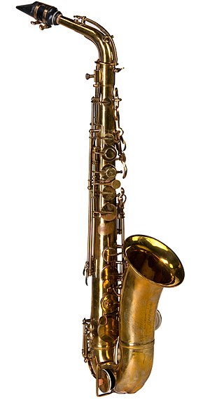 Adolphe Sax - Saxophone produced by Sax