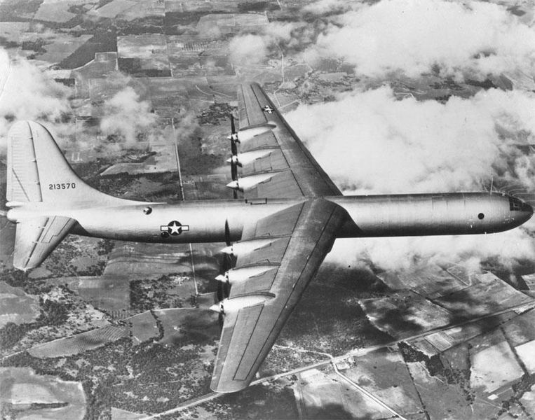 File:XB-36 first flight.jpg