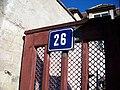 Xaveriova 26, orientační číslo.jpg