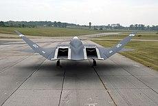 YF-23 exhaust