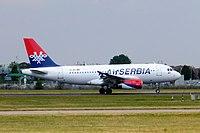 YU-APJ - A319 - AirSERBIA