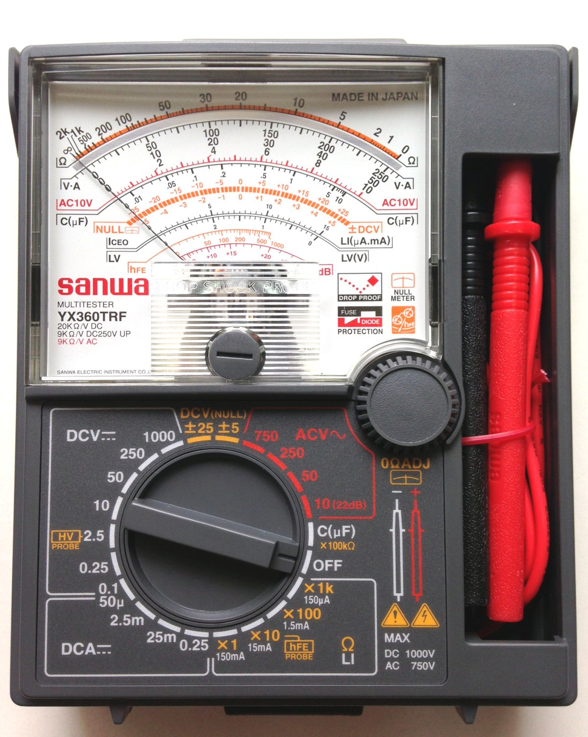Multimeter Wikipedia E Meter Circuit Diagram