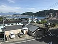 Yamagawa Bay from train on south side of Yamakawa Station 2.jpg