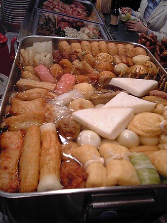 Oden - A variety of oden ingredients