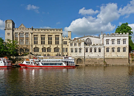 York Guildhall is the seat of local government York Guildhall.jpg