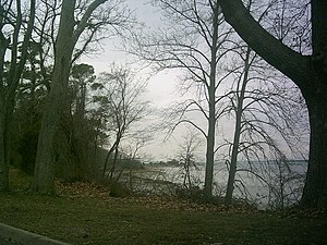 York River (Virginia) - The banks of the York near Yorktown