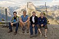 Yosemite Park, Glacier Point, Wikiekspedycja 2012 USA crew.jpg
