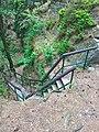 Zřícenina Kozlov-Chlum - schody 2.jpg