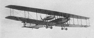 Zeppelin-Staaken Riesenflugzeuge - In-flight photo of R.IV (1916)