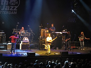 American tribute act led by Dweezil Zappa, playing the music of Frank Zappa