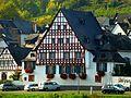 """Zell -Mosel - das Fachwerkhaus """"Boos von Waldeckhof"""" im Ortsteil Zell-Kaimt - panoramio.jpg"""