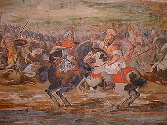Kadan - Qadan's siege of Olmuc.