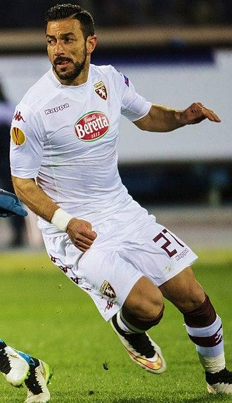 Fabio Quagliarella - Quagliarella playing for Torino in 2015