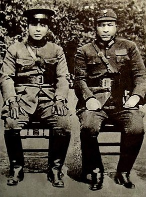Zhang Xueliang and Yang Hucheng