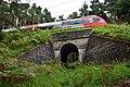 Zirl - Mittenwaldbahn - zweite von drei Brücken zwischen Brücke Wasserstollen und Rottenunterkunft Hochzirl.jpg