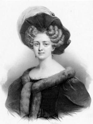 Geneviève-Aimé-Zoë Prévost - Zoé Prévost by Henri Grevedon