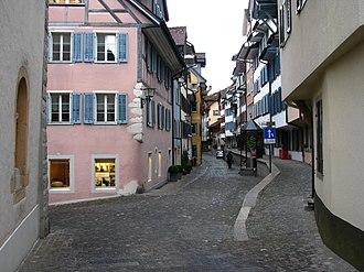 Zug - Oberstadt (upper town) in the Altstadt