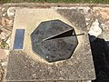 """I only tell of sunny hours"" Sundial, Brisbane Botanic Gardens.JPG"