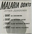 """""""Malaria don'ts after sundown"""" (Reeve 088266-15), National Museum of Health and Medicine (3368948688).jpg"""
