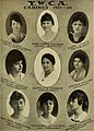 """""""YWCA cabinet 1917 - 18"""" from- Illustrated bulletin (1917) (14782310714) (cropped).jpg"""