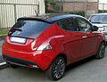 """ 12 - ITALY - Lancia Ypsilong bicolor ( black and red ) in Milan 03.jpg"