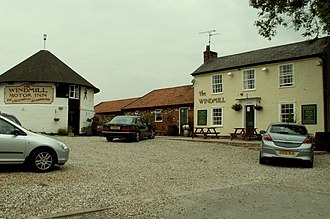 Chatham Green - The Windmill pub at Chatham Green