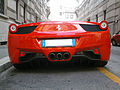 ' 10 - ITALY - Ferrari 458 Italia rossa a Milano 05.jpg