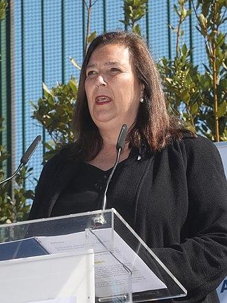 Asociación de Víctimas del Terrorismo - Maite Araluce, president of the Association of Victims of Terrorism (2016).
