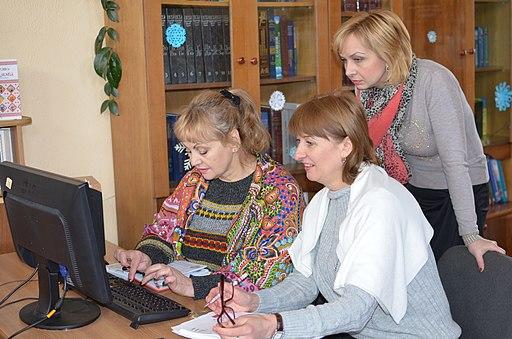 «Бібліотекарі ілюструють Вікіпедію», місто Хмельницький. Фото 3