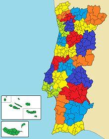 mapa de portugal e regioes autonomas Áreas metropolitanas de Portugal – Wikipédia, a enciclopédia livre mapa de portugal e regioes autonomas