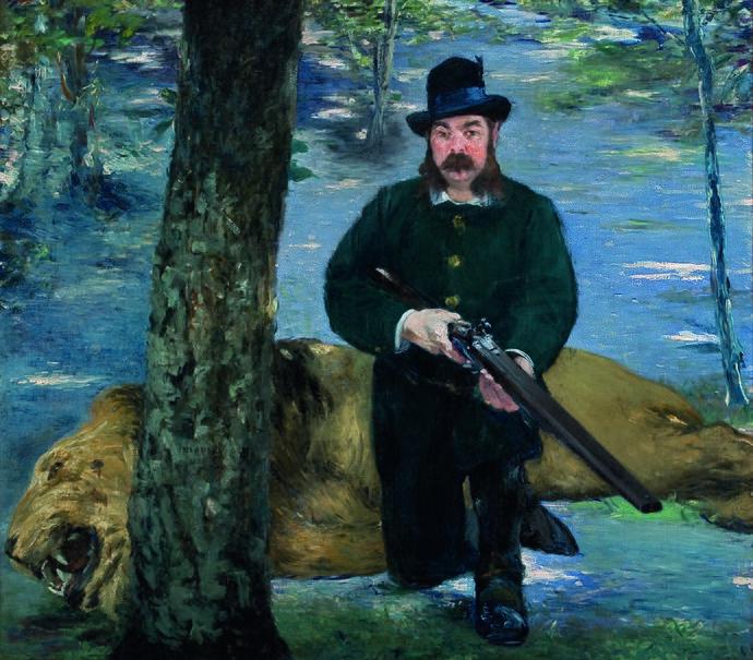 Édouard Manet - Pertuiset, le chasseur de lions