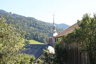 Les Villards-sur-Thônes Commune in Auvergne-Rhône-Alpes, France