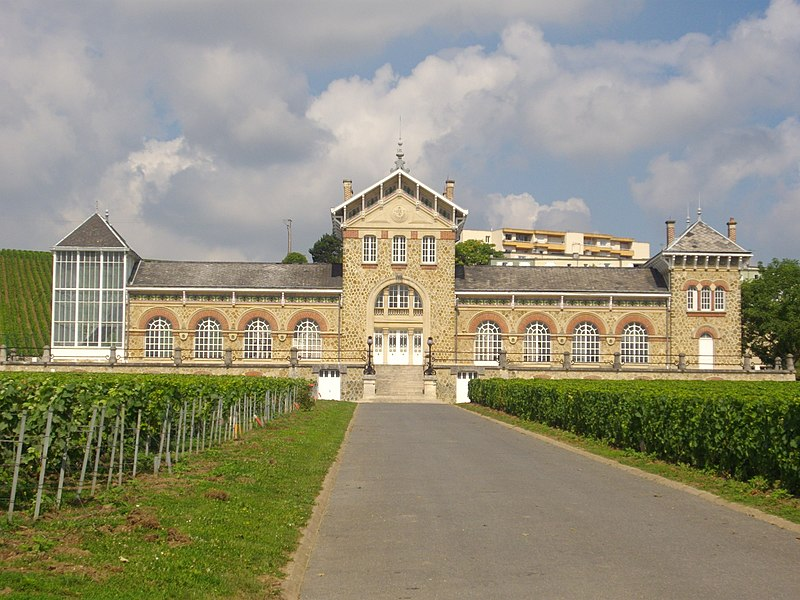 Chabrol fort in Épernay (Marne, France)