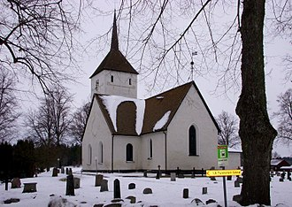 Selaön - Överselö Church on Selaön